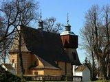 Blizne – kościół Wszystkich Świętych.
