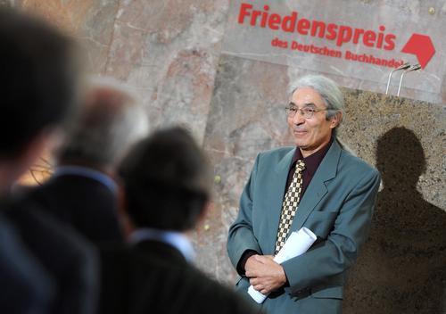 Algierski pisarz odebrał główną nagrodę targów książki we Frankfurcie