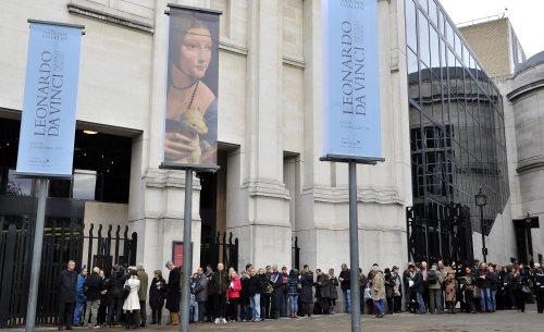 W.Brytania: Narodowa Galeria wystawia Leonarda da Vinci
