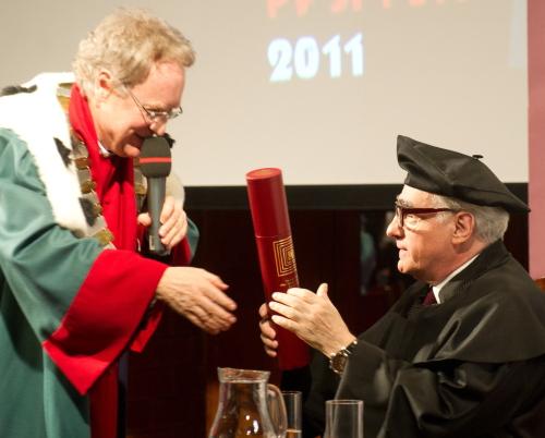 Martin Scorsese doktorem honoris causa łódzkiej filmówki