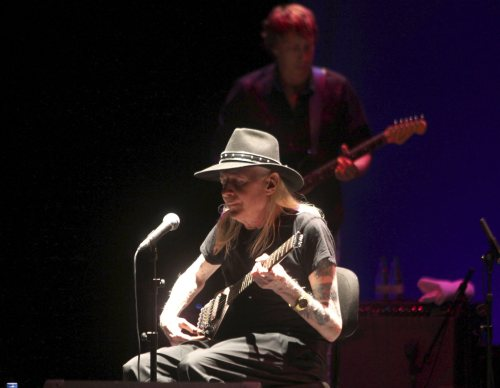 Gitarzysta Johnny Winter zagra w Łodzi