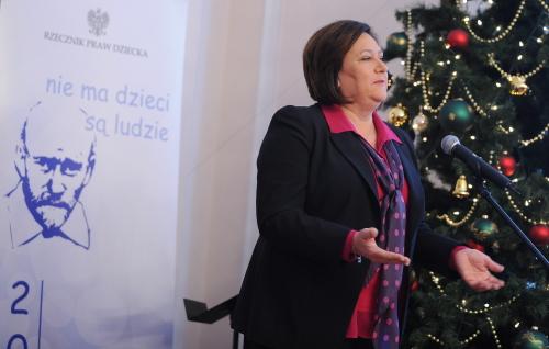 Anna Komorowska została przewodniczącą Komitetu Honorowego Roku Korczaka