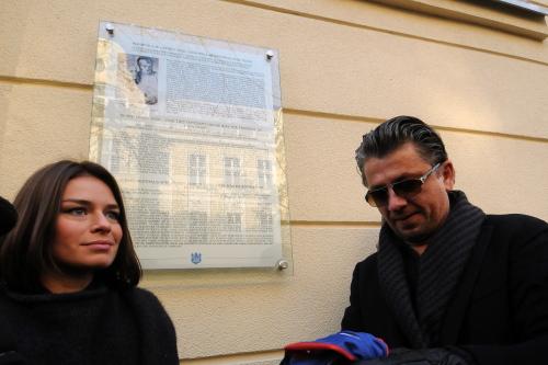 W Bydgoszczy odsłonięto tablicę upamiętniającą Polę Negri