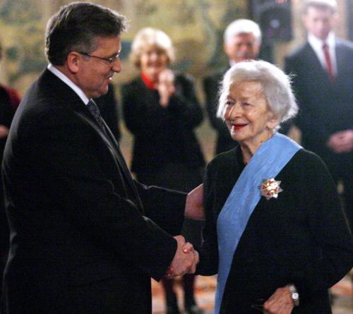 Rusinek: w testamencie Szymborskiej jest postanowienie dotyczące fundacji