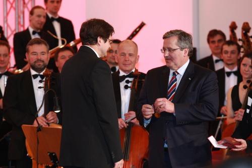 Para prezydencka w Płocku – odznaczenia dla ludzi kultury