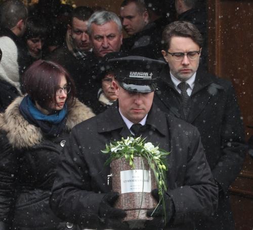Wisława Szymborska spoczęła na Cmentarzu Rakowickim w Krakowie