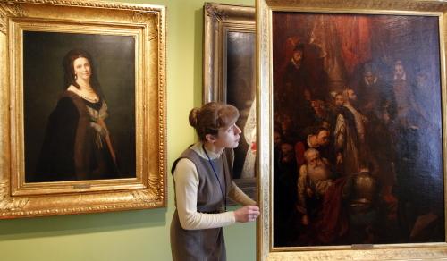 Katowice: obraz Jana Matejki w Muzeum Śląskim