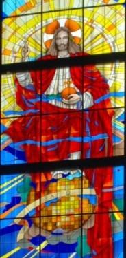 Witraże w kościele pw.Najświętszego Serca Jezusowego w Rypinie