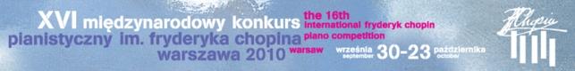 XVI Międzynarodowy Konkurs Pianistyczny im.Fryderyka Chopina