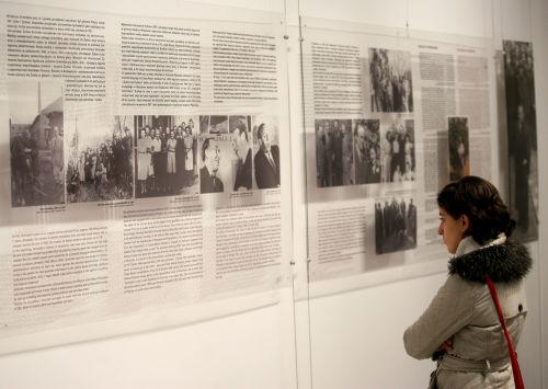 Wystawa w dawnej fabryce Oskara Schindlera w Krakowie
