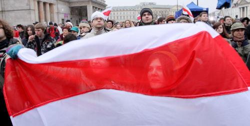 """Warszawa/ """"Solidarni z Białorusią"""" po raz czwarty"""