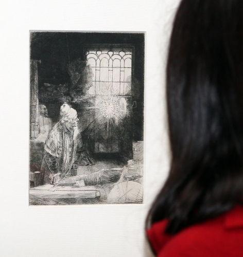 Poznań/ Wystawa grafik Rembrandta