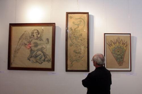 Akwarele Matejki na wystawie w Ostrowcu Świętokrzyskim