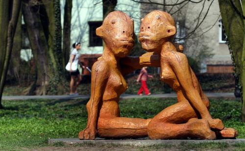 Nowe rzeźby plenerowe stanęływ Poznaniu