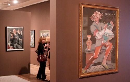 Wystawa Zofii Stryjeńskiej w Muzeum Narodowym