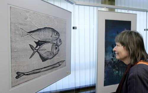 """Wystawa """"Japońska litografia na drewnie"""" w Bibliotece Narodowej"""