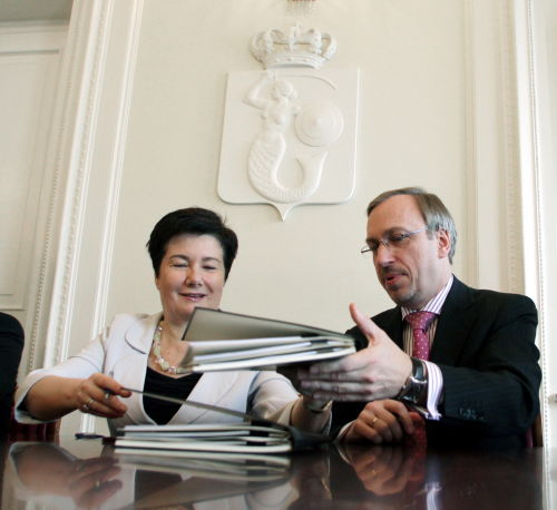 Podpisano umowę na budowę Muzeum Historii Żydów Polskich
