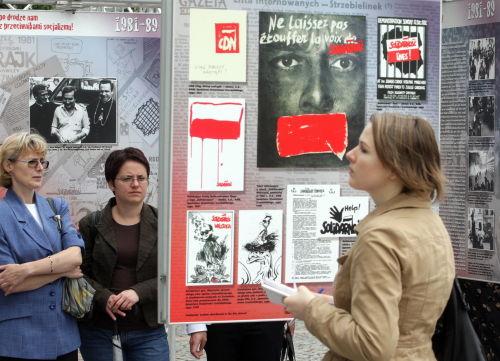 """Wystawa """"Nie po drodze nam z przeciwnikami socjalizmu!"""""""