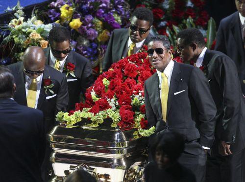 USA/ Miliony pożegnały Michaela Jacksona
