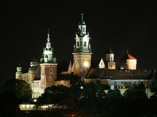 Wzgórze Wawelskie ma nową iluminację