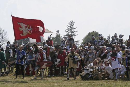 Pod Grunwaldem znowu wygrały wojska dowodzone przez Jagiełlę