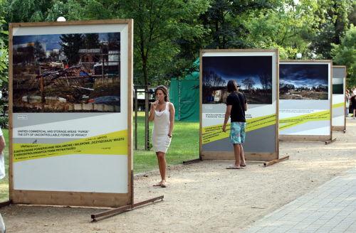 """Wystawa """"Urbanity twenty years later"""""""