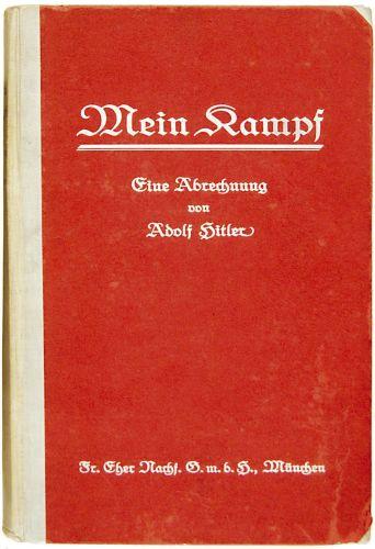 """W.Brytania/ Na aukcji sprzedano """"Mein Kampf"""" z podpisem Hitlera"""