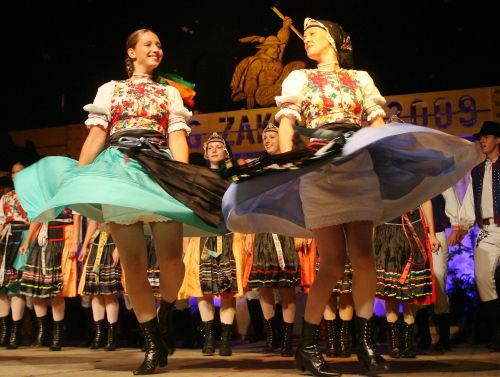 Zakopane/ Rozpoczął się Międzynarodowy Festiwal Folkloru