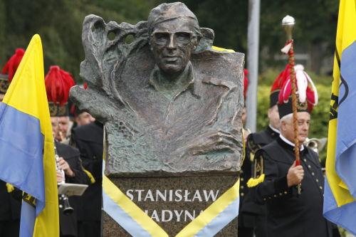 Stanisław Hadyna w plenerowejGalerii Artystycznej