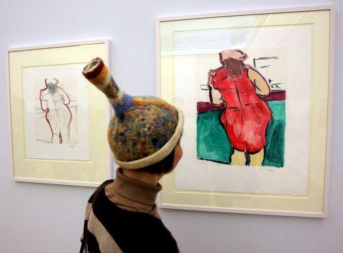 Prace Dylana na wystawie w Danii