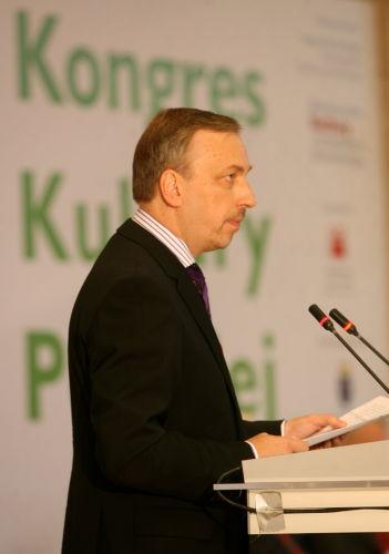 Zdrojewski podsumował pierwszą sesję Kongresu Kultury Polskiej