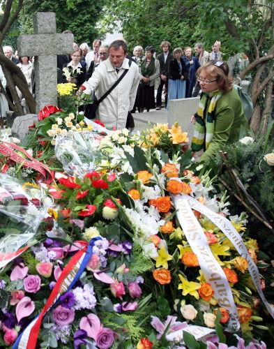 Pogrzeb prof. Barbary Skargi
