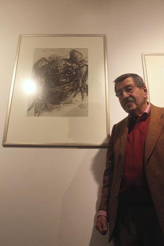 Grass otworzył w Gdańsku galerię jego imienia