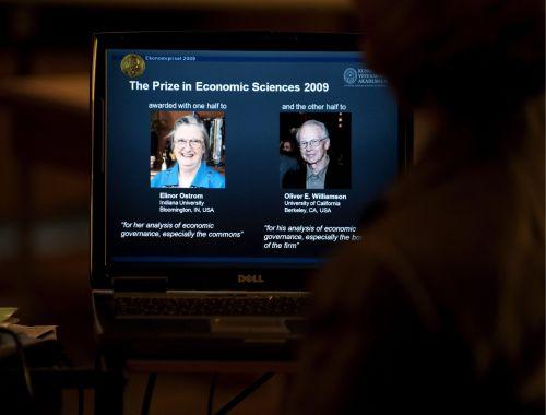 Ostrom i Williamson laureatami Nobla z ekonomii