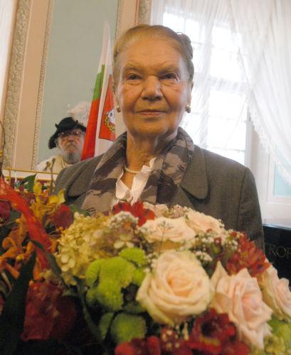 Julia Hartwig otrzymała honorowe obywatelstwo Lublina