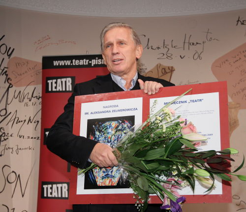 Nagrody dla Jarzyny, Radziwiłowicza i zespołu Teatru Narodowego