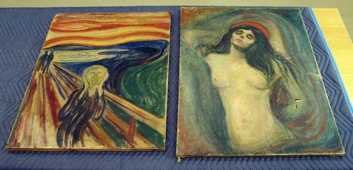 Znów kradzież dzieła Muncha wOslo