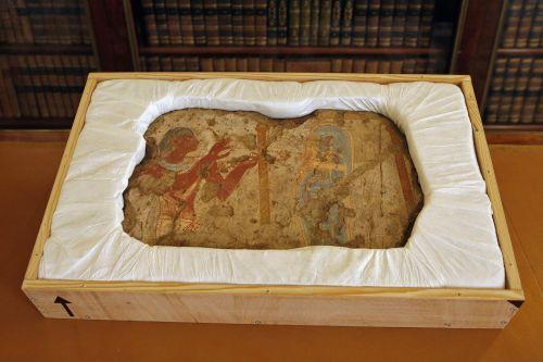 Francja zwróciła Egiptowi freski z Luwru