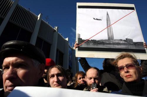 Petersburg wycofuje udziały zbudowy wieży Gazpromu