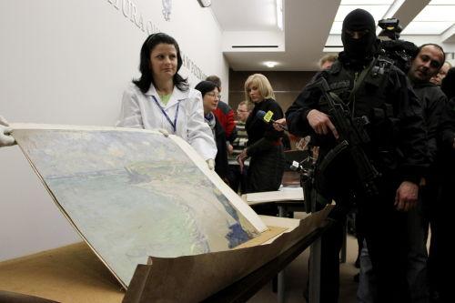 Prokuratura: ekspertyza potwierdza oryginalność obrazu Moneta