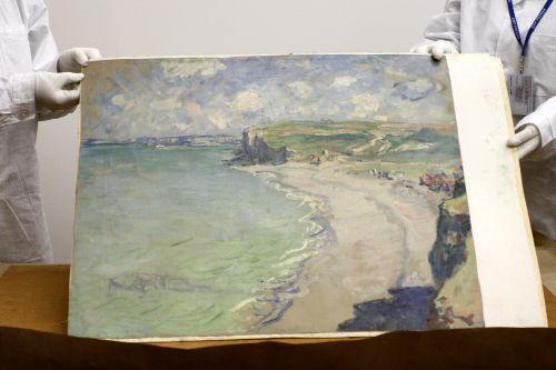 Robert Z. podejrzewanyo o kradzież obrazu Moneta aresztowany