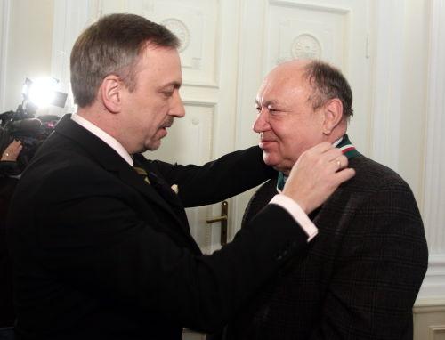 Minister kultury uhonorował pracowników warszawskiej WFDiF