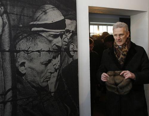 W byłym obozie Auschwitz otwarto wystawę rosyjską