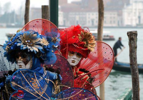 Wenecja:zabawy dla dzieci w przeddzień otwarcia karnawału