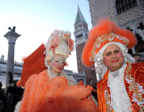 Rekordowa liczba uczestników karnawału w Wenecji