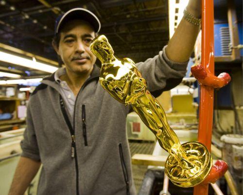 Oscarowe statuetki produkowane są w zakładzie R.S. Owens w Chicago