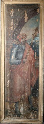 XVI-wieczny wizerunek Jagiełły trafił na Wawel