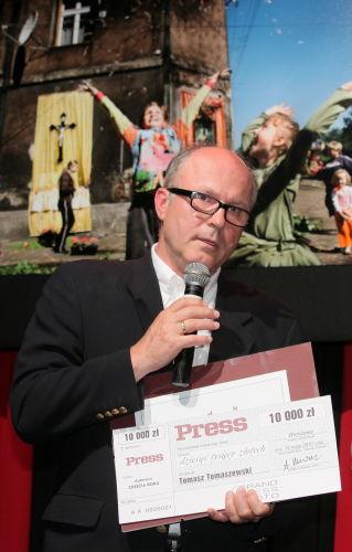 Tomasz Tomaszewski zwycięzcą konkursu Grand Press Photo