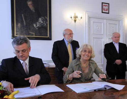 Podpisano umowę dotyczącą budowy centrum muzyki Pendereckiego