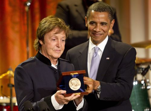 USA/ Paul McCartney uhonorowany nagrodą